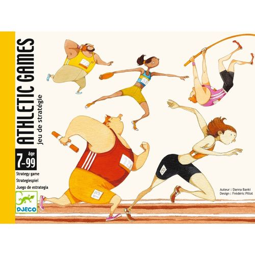 Kartenspiele: Athletic games von Djeco